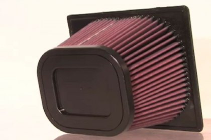 K&N® Air Filter Intake Testing