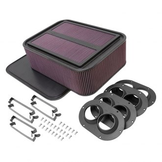 K&N® - Carbon Fiber Air Box Large