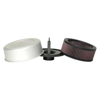 K&N® - Off-Road Covered Round Red Air Filter Assembly