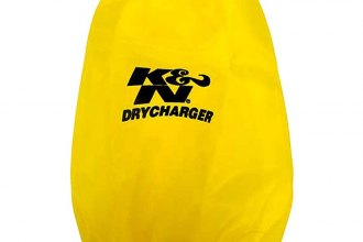 K&N® RC-5046DY - DryCharger Filter Wrap (Yellow)