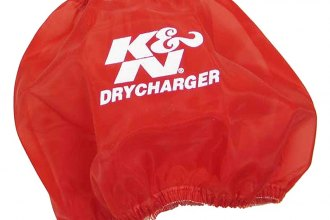 K&N® RF-1048DR - DryCharger Filter Wrap (Red)