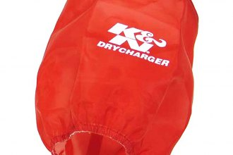 K&N® RX-4730DR - DryCharger Filter Wrap (Red)