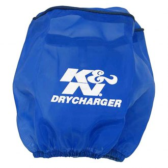 K&N® - Drycharger® Round Tapered Blue Pre-Filter