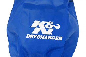K&N® RX-4990DL - DryCharger Filter Wrap (Blue)