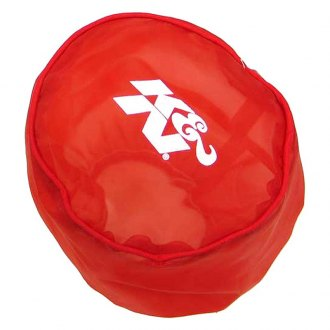 K&N® - Drycharger® Round Tapered Red Pre-Filter
