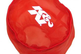 K&N® RX-4990DR - DryCharger Filter Wrap (Red)