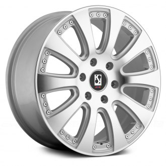 KOKO KUTURE® - SPRINTER Silver with Machined Face
