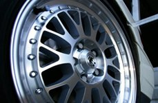 KONIG® - ROLLER Silver with Machined Face on Car