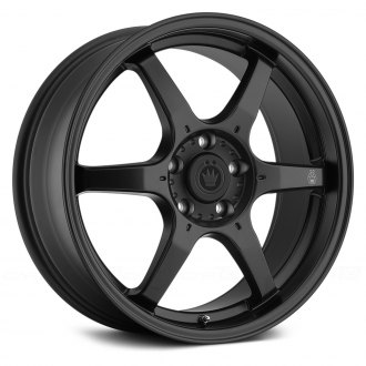 KONIG® - BACKBONE Matte Black with Milled Logo on Spoke