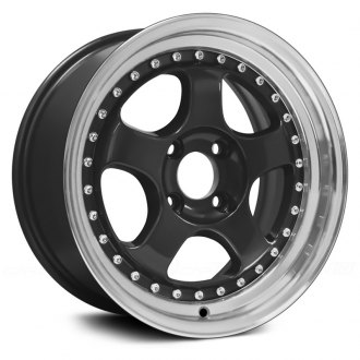 KONIG® - CANDY Black with Machined Lip