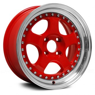 KONIG® - CANDY Red with Machined Lip