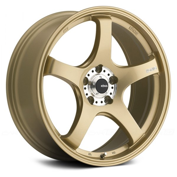 KONIG® - CENTIGRAM Gold with Machined PCD