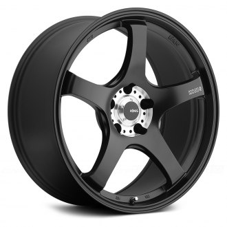 KONIG® - CENTIGRAM Matte Black with Machined Center