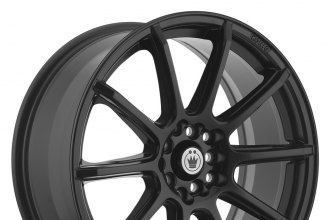 "KONIG® - CONTROL Matte Black (14"" x 6"", +38 Offset, 4x100 Bolt Pattern, 73.1mm Hub)"