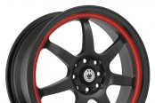 KONIG® - FORWARD Black with Red Stripe