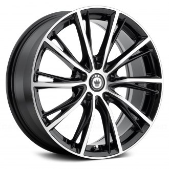 KONIG® - IMPRESSION Gloss Black with Machined Face