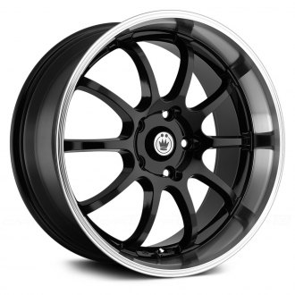 KONIG® - LIGHTNING Black with Machined Lip