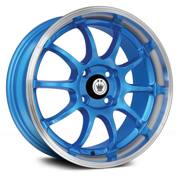 KONIG® - LIGHTNING Blue with Machined Lip