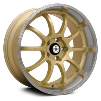 KONIG® - LIGHTNING Gold with Machined Lip