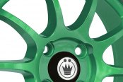 KONIG® - LIGHTNING Green with Machined Lip Close-Up