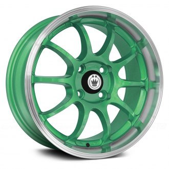 KONIG® - LIGHTNING Green with Machined Lip