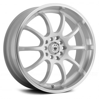 KONIG® - LIGHTNING White with Machined Lip