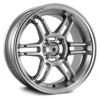 KONIG® - LIGHTSPEED Silver with Machined Lip