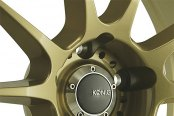 KONIG® - MILLIGRAM Gold with Machined Undercut Close-Up