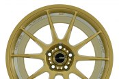 KONIG® - MILLIGRAM Gold with Machined Undercut - Front View