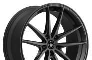 "KONIG® - OVERSTEER Gloss Black (16"" x 7.5"", +45 Offset, 5x112 Bolt Pattern, 73.1mm Hub)"