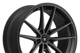 "KONIG® - OVERSTEER Gloss Black (17"" x 8"", +35 Offset, 5x114.3 Bolt Pattern, 73.1mm Hub)"