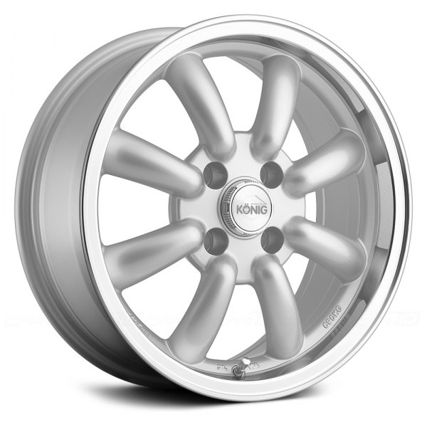 KONIG® - REWIND Silver with Machined Lip