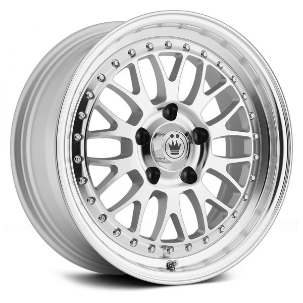 KONIG® - ROLLER Silver with Machined Face