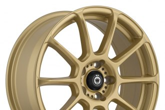 "KONIG® - RUNLITE Gold (17"" x 7.5"", +35 Offset, 5x114.3 Bolt Pattern, 73.1mm Hub)"