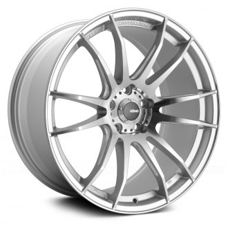 KONIG® - TORCH Silver with Ball Cut Machined Spokes