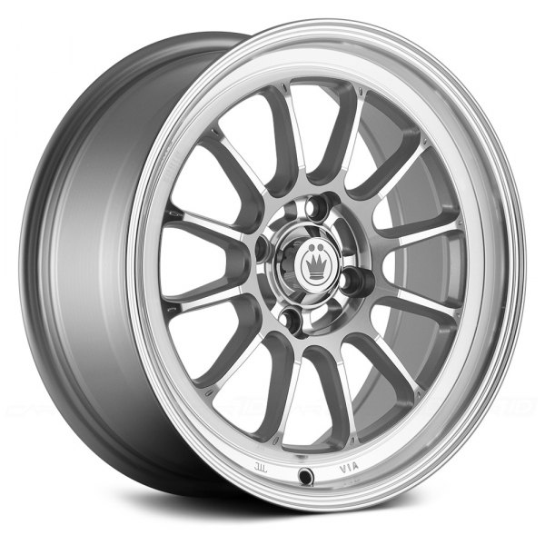 KONIG® - TWEAK'D Silver with Machined Face