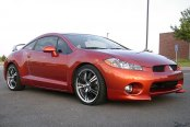 KONIG® - UNKNOWN Gloss Black with Machined Face and Lip on Mitsubishi Eclipse