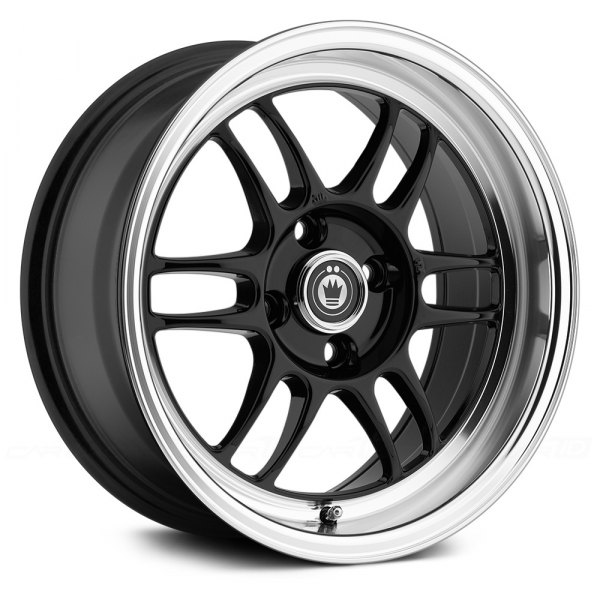 KONIG® - WIDEOPEN Gloss Black with Machined Lip