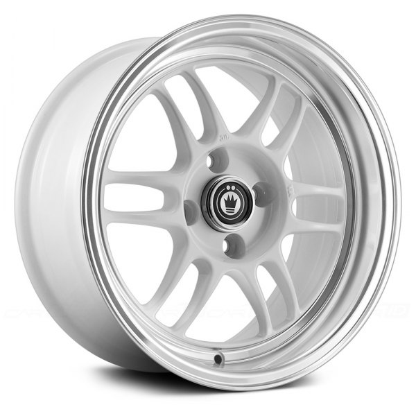 KONIG® - WIDEOPEN Plain White with Machined Lip