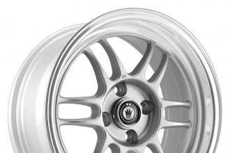 KONIG® - WIDEOPEN Silver with Machined Lip