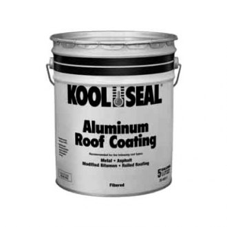 Kool Seal®   Kool Seal Economy 4.75 Gallon Aluminum Roof Coating