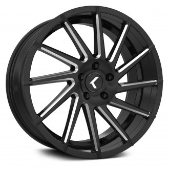 KRAZE® - 181 SPINNER Satin Black with Milled Accents