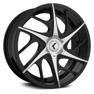 KRAZE® - 182 ROGUE Black with Machined Face