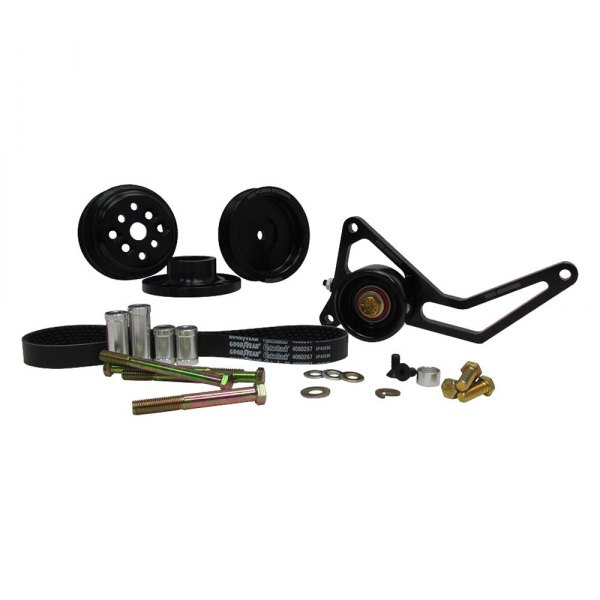 KRC Power Steering® - Pro Series™ Engine Coolant Water Pump Drive Kit with Idler Tensioner