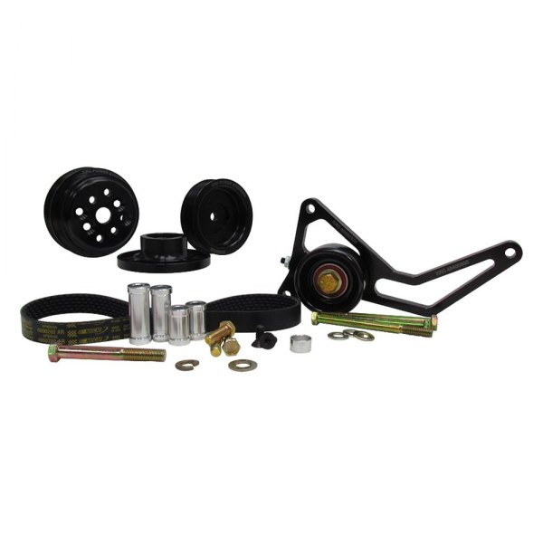 KRC Power Steering® - Pro Series™ 0,15 Engine Coolant Water Pump Serpentine Drive Kit with Idler Tensioner