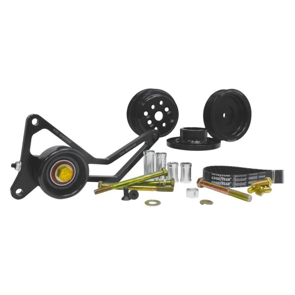 KRC Power Steering® - Pro Series™ 0,3 Engine Coolant Water Pump Serpentine Drive Kit with Idler Tensioner