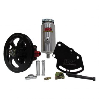 "KRC Power Steering® - 6.0"" V-Belt Cast Iron Pump Kit with Remote Tank"