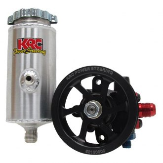 KRC Power Steering® - 60 V-Belt Cast Iron Pump Kit with Remote Tank