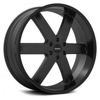 KRONIK® - ZERO Gloss Black with Matte Black Center