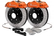 KSport® - ProComp Cross Drilled Brake Kit with 6 Pistons Calipers